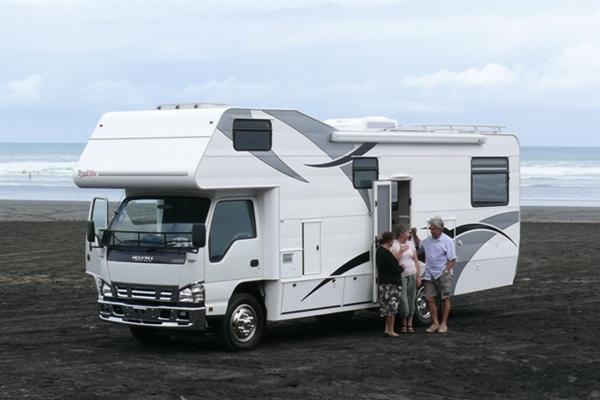 Isuzu Motorhomes New Zealand Isuzu Motorhome Photo