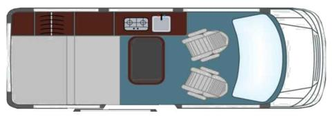 Germany Drm Group A1 California Star 4 Berth Campervan