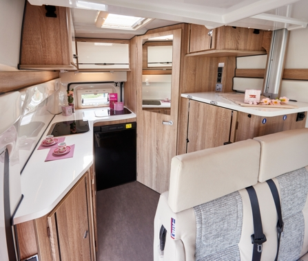 Germany DRM Group B3 - Compact Comfort 2 Berth Campervan