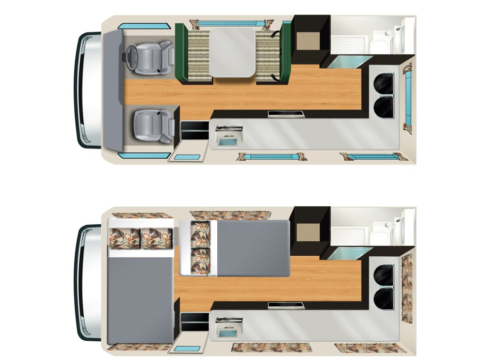 Apollo Motorhomes Euro Camper 4 Berth Camper Vehicle