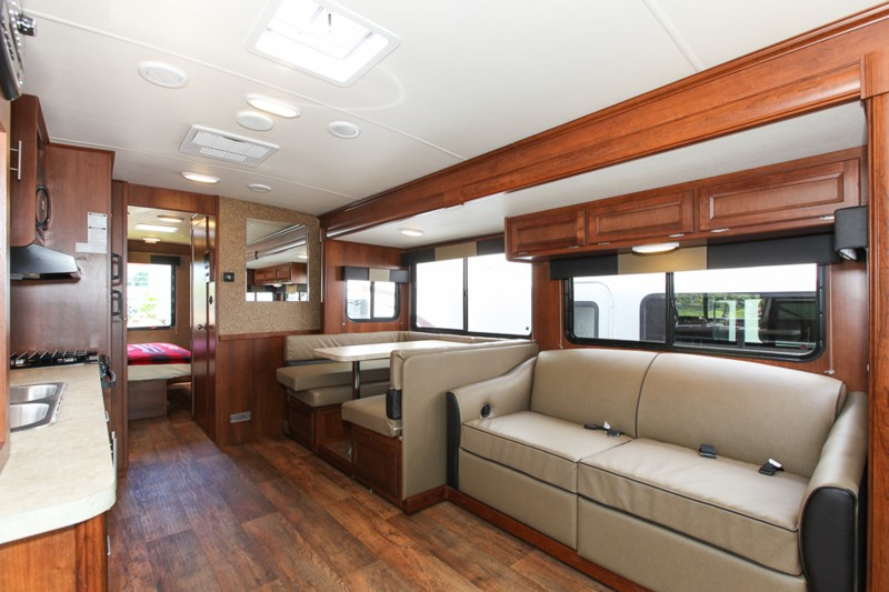 Fraserway a class 30ft ace motorhome 6 berth motorhome Home furniture rental montreal