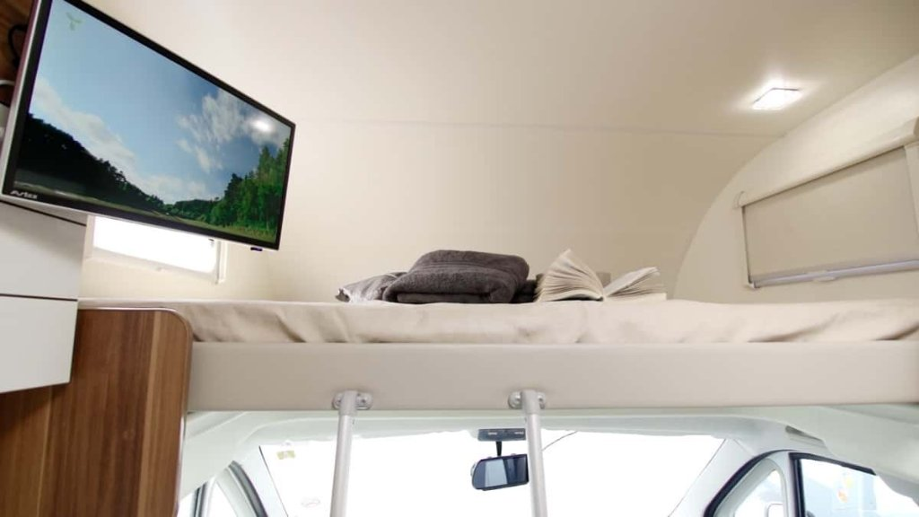Just Go Motorhome 6 Berth Motorhome With Fixed Rear