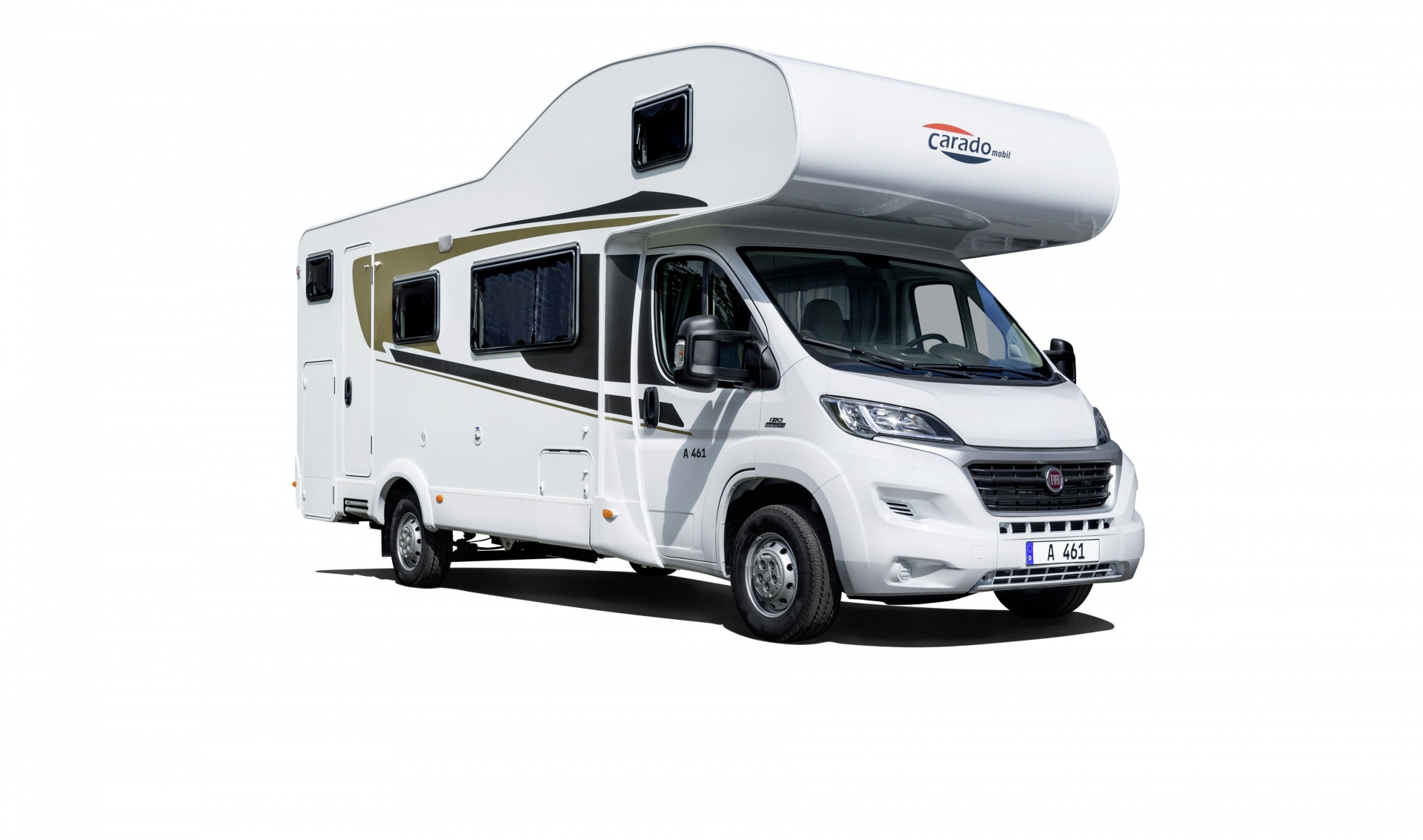 Simple Medium Class  4 Berth Motorhome  With Shower And Toilet